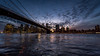New York City (Marco Carbone Photography) Tags: nikon usa bridge nyc blue photooftheday skyline skyscrapers sky architecture architettura art lights travel landscapes america brooklyn manhattan viaggi