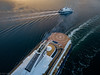 Big and small (kaifr) Tags: ferry drone birdseyeview fromabove sailing transportation outdoors aerial passengerferry sea oslo norway no