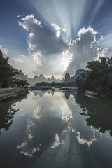 The  heaven gate (Gregory Michiels Photography) Tags: xingping guilin photography rays li river lijiang guangxi china guide karst landscape nature adventure explore travel