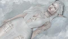 Arctic Aura (Luηα Couηтeѕѕ) Tags: second life sl edit art blog fashion catwa maitreya amara beauty fallen gods inc runaway shiny shabby trap gauze pfc scandalize winter trend suicidal unborn izzies voluptasvirtualis mila
