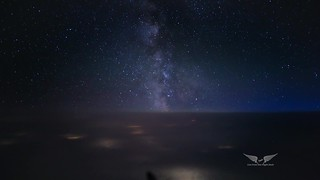 Chasing the Milky Way (timelapse video)