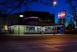 Denver Diner at Dusk