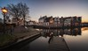 A calm winter day, Haarlem (reinaroundtheglobe) Tags: haarlem noordholland nederland holland netherlands thenetherlands dutch dutchlandscape city cityscape waterfront jetty water river canalhouses residentialbuildings reflection waterreflections reflections sunset winter calmweather