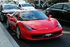 Ferrari 458 SPIDER - Genève décembre 2017 (FerrariBOOK) Tags: ferrari 2017 modena cars modenacars décembre suisse lac léman jet deau jetdeau red rouge 70th garage concession parking street 458 italia 458italia spider 458spider
