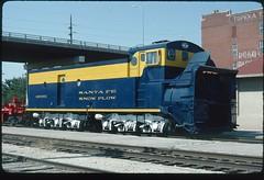 ATSF 199361 at Topeka, Kansas 31 August 1990 (redfusee) Tags: atsf