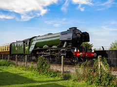 Flying Scotsman at Didcot 4 (Railway-Fox) Tags: didcot railway centre lner pacific flying scotsman 60103 4472