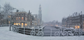 Amsterdam welcomes a white December