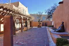 Sculpture Garden (jpellgen (@1179_jp)) Tags: nmmoa newmexico santafe sf nm 2017 winter december art museum artmuseum travel nikon d7200 sigma 1770mm historicdistrict southwest usa america