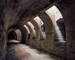 1830s Arched Brick Tunnel - Portra 160