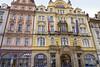 Baroque Facades Town Square Prague (Don Thoreby) Tags: prague czechrepublic czech praha praguebeer beersigns cathedrals churchesofprague churches praguecastle bohemian artnouveau architecture baroquearchitecture baroque graffiti graffitiofprague