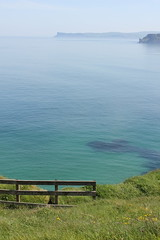 IMG_3727 (avsfan1321) Tags: ireland northernireland unitedkingdom uk countyantrim ballycastle carrickarede carrickarederopebridge nationaltrust landscape green blue ocean atlanticocean