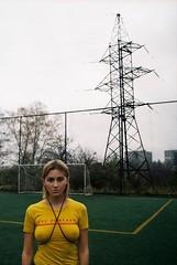 aliona i. offside2016. lviv. (Yaroslav F.) Tags: aliona ivanova yaroslav futymskyi olympus om1 girl lviv autumn portrait 35mm kodak urban