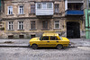Buildings,People and Ukraine (cekic photography) Tags: yellow car ussr photography building architecture ukraine travel odessa life urban photojournalism photographer flickr street streetphoto artofvisuals travelphotography auto winter