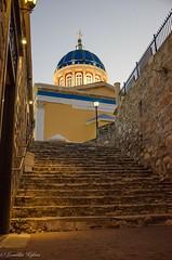 Suros (leonkaf) Tags: church colorfully view nightphoto nikond7000