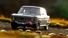 1:18 Autoart - BMW 1800 TI/SA (vwcorrado89) Tags: 118 1 18 bmw neue klasse 1600 1800 2000 ti sa tisa grey diecast die cast model modelcar scale scaled scalecar scalemodel miniature miniaturemodel miniaturecar
