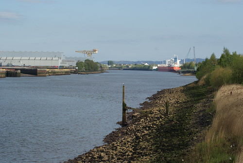 Clydeside from Braehead