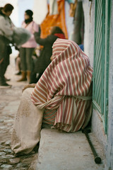 DSC_4100 (JoSSe G.) Tags: strreet africa chaouen nikond7100 nikkor tamron 2470 28 2018 love burca woman marroco