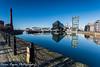 The docks (brianfagan) Tags: winter merseyside water reflections canon brianfaganphotography liverpool colour eos mersey uk brianfagan 6d docks january northwest reflection england unitedkingdom gb