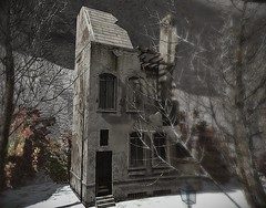 1944 ruined building (Bluesean Yiyuan) Tags: never totally dead second life ruined decayed post apocalyptic french war 3d sim decoration background