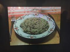 Nyårsmiddag 31/12 (OBS! Ej rätt bild) (Atomeyes) Tags: mat svamp risotto balsamico tomat senapskål nyår vin