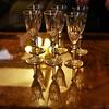 ~~ Pas encore pleins ou déjà vides ! ~~ (Joélisa) Tags: verres champagne flutes janvier2018 6 six reflets table