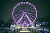 Montréal, old port ferris wheel -30 celcius (Ianleemusique) Tags: xt2 fujifilm 1655mm montreal winter snowstorm snow nightphotography oldport