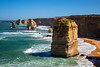 Majestic... (ImagesByLin) Tags: greatoceanroad cliffs stacks rockformations scenery breathtaking majestic vista limestone limestonestacks magnificent landscape touristattraction southernocean australia victoria sunkissed afternoon twelveapostles