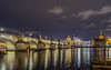Evening in Prague (Smeets Paul (ty for 1,9 million views)) Tags: prague praag bridge charlesbridge