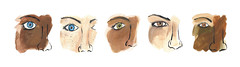 Eye types for Women's Health UK (Sharon Farrow) Tags: eyes commission editorialcommission editorial eyetypes mixedmedia beauty beautyillustration illustration illustrator faces ink pen pencil paint drawing sharonfarrow commissionedwork womenshealth magazine eye