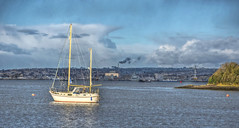 Devonport & the River Tamar (Baz Richardson (now away until 21 June)) Tags: plymouth devonport rivertamar yachts millbrooklake