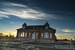 December Sunset at the Unity School (Tom Herlyck) Tags: sunset unityschool colorado sky sunshine day country usa history county sun landscape old southeastcolorado southeasterncolorado