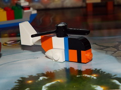 Helicopter (Paranoid from suffolk) Tags: 2017 lego city advent calendar day17 helicopter