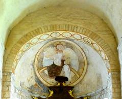 St. André, St. Benoît (Vienne) (Dick Takkenberg) Tags: stbenoît church romanesque fresco apse lastjudgement