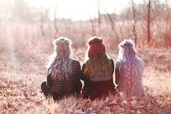 (Azarah Eells) Tags: rainbow rainbowhair kansas hairbynikbhair by nikbhairbynikbhairunicorn hairhutchinsonazarah eellscanoncanon 7dautumnpastel hairpurple hairlavender hair