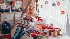 28 (mimiau_m) Tags: bjd bjdstory asian doll christmas noel zaoll luv recast dollroom dollstory