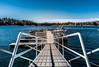 Lake Arrowhead Pier (christophela) Tags: lake arrowhead water pier ocean bridge boat marina