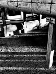 Overpass, Rome, Italy. (Massimo Virgilio - Metapolitica) Tags: monochrome blackandwhite italy rome architecture city urbanexploration overpass
