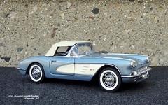 1959 Chevrolet Corvette Roadster (JCarnutz) Tags: 124scale diecast danburymint 1959 chevrolet corvette