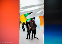 Museum Ludwig Selfie (Theunis Viljoen LRPS) Tags: cologne colours germany museumludwig reflections selfie