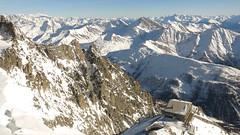 Mont Blanc (sharon quarterman I) Tags: montblanc mountain winter snow alps rifugiotorino valdaosta coumayeur newyear topofeurope white italy travel hiking trekking skiing nature outdoors sport whitemountain sky highaltitude holiday view