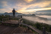 the Balcony (KRW_GNS) Tags: asia background beautiful cloud fog forest landscape light mist morning mountain mountains natural nature orange outdoor park point scenic sky summer sun sunlight sunrise thailand tourism travel tree vacation view abigfave