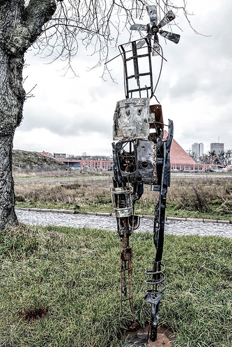 Junk Metal Sculptures