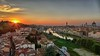 Buon 2018 da Firenze (Luna y Valencia) Tags: torresanniccolo sunset 2018 happynewyear florence tramonto