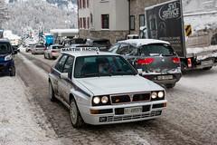 Lancia Delta Integrale Evo (Nico K. Photography) Tags: lancia delta integrale evo classic supercars rallycar switzerland white rare nicokphotography stmoritz