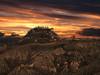 Canossa al tramonto (gabrielecabassi) Tags: castelli paesaggio panorama residenzestoriche residenzeantiche borghi italia immagini