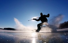 (fredrik.sarnblad) Tags: winter ice cold skating hockey pondhockey pond lake outdoors odr
