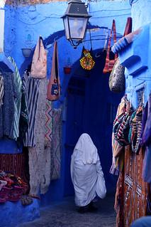 Rue de Chefchaouen Maroc _2000