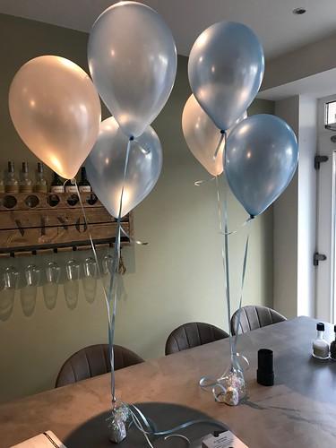 Tafeldecoratie 3ballonnen De Eetalage Numansdorp