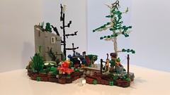 campin' (Tilko Wagenknecht) Tags: legotrees diorama moc detailing