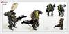 Raptor series: U.S. Army (Brixnspace) Tags: raptor walker frame powersuit suit lego moc toy biped bot us usa army war gun
